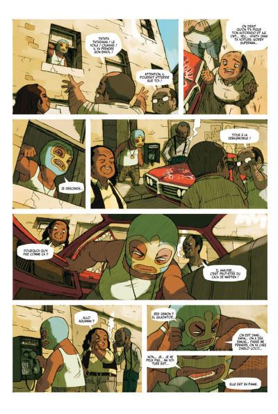 Page 2 Lucha Libre - Intégrale 1