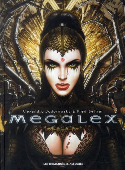 Couverture Megalex - Intégrale 40 ans