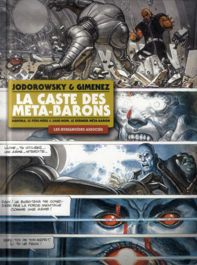 Couverture La Caste des Méta-Barons - Intégrale tome 7 + tome 8