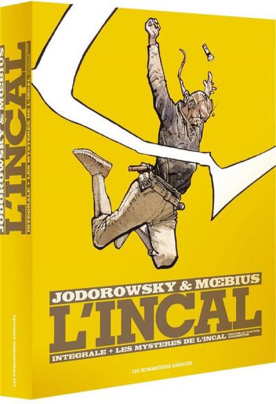 Couverture l'Incal ; une aventure de John Difool ; COFFRET INTEGRALE