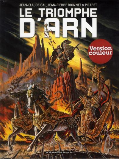 Couverture Arn tome 2 - le triomphe d'Arn (édition couleur)