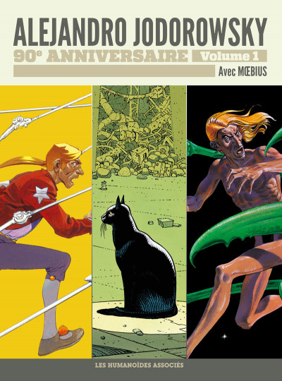 Couverture Jodorowsky 90 ans tome 1