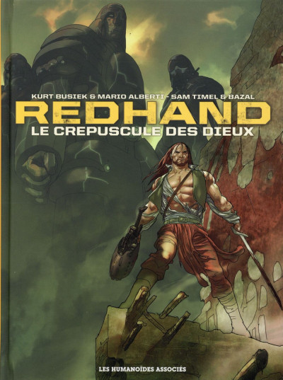 Couverture Redhand - intégrale 40 ans