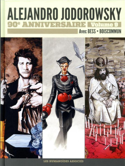 Couverture Jodorowsky 90 ans tome 9