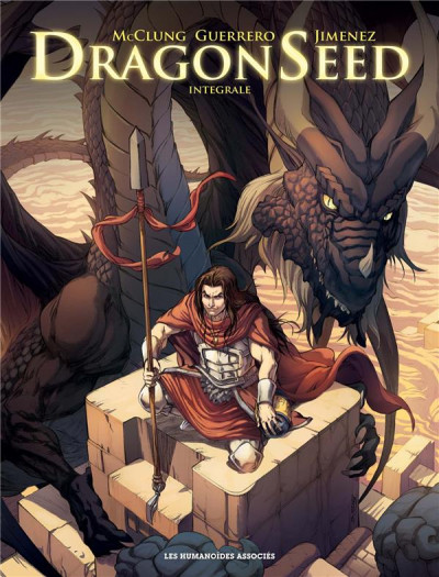 Couverture Dragonseed - intégrale tome 1 à 3