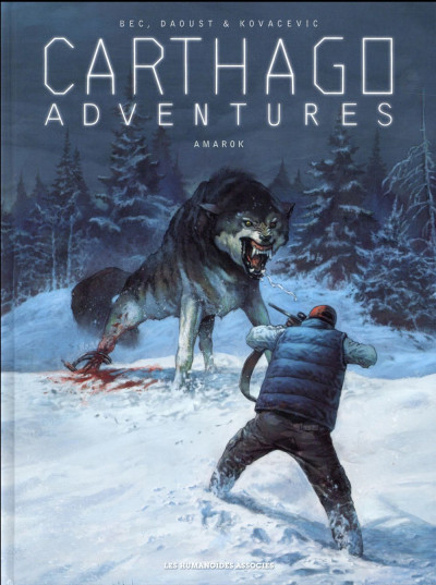 Couverture Carthago adventures tome 4