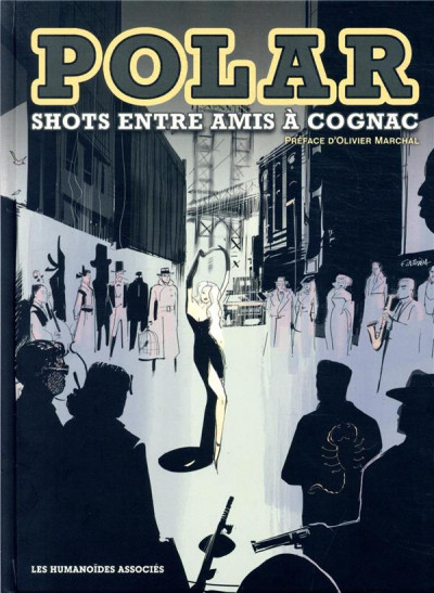 Couverture Polar - Shots entre amis à Cognac