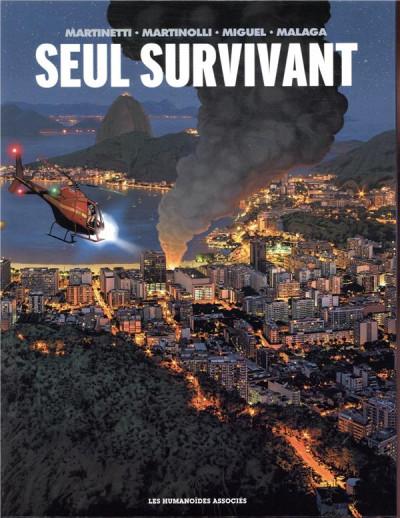Couverture Seul survivant - coffret tomes 1 à 3