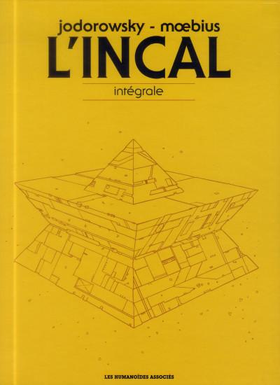 Couverture L'Incal - intégrale, coffret