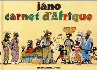 Couverture Carnet d'Afrique