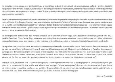 Page 1 Carnet d'Afrique