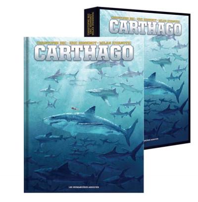 Couverture Carthago - intégrale sous coffret tomes 1 à 5