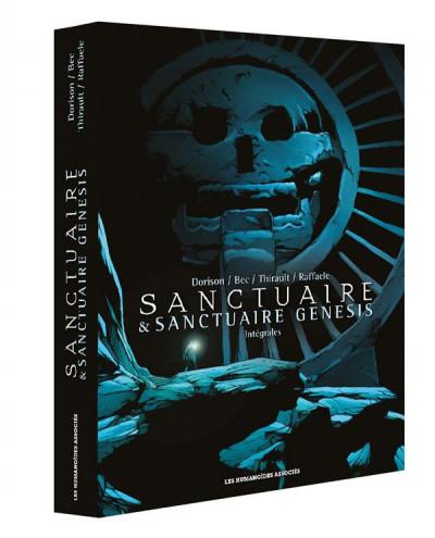 Couverture Sanctuaire + Sanctuaire Genesis - intégrales sous coffret