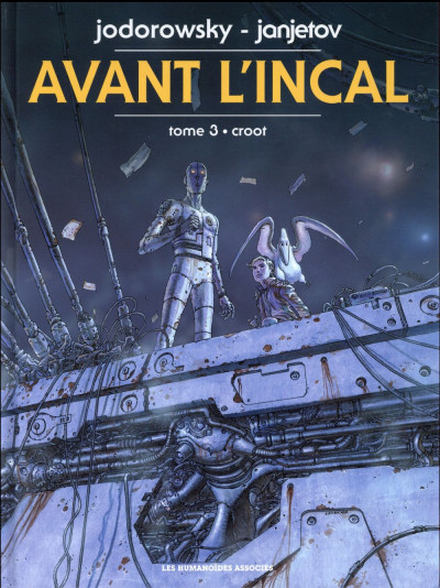 Couverture Avant l'incal tome 3