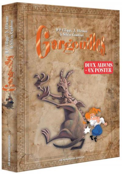 Couverture Gargouilles - coffret de noël tomes 1 et 2 (+ 2 posters )