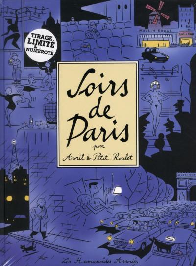 Couverture soirs de Paris ; édition de luxe et limitée