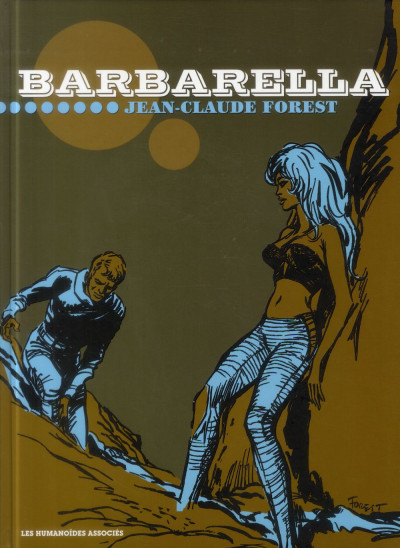 Couverture Barbarella - édition luxe