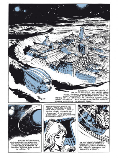 Page 1 Barbarella - édition luxe