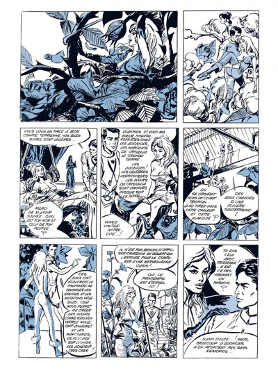 Page 3 Barbarella - édition luxe