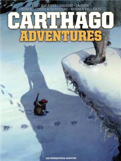 Couverture Carthago adventures - intégrale sous coffret