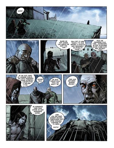 Page 5 Jaemon tome 2 - Au-delà des terres sombres