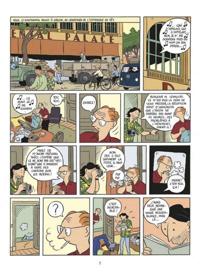 Page 1 la vie de Victor Levallois ; intégrale