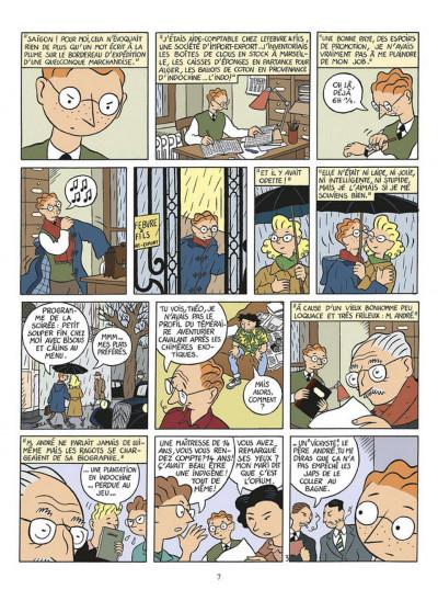 Page 3 la vie de Victor Levallois ; intégrale
