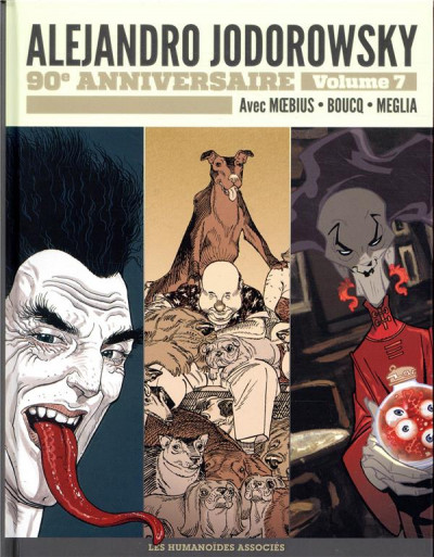 Couverture Jodorowsky 90 ans tome 7