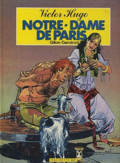 Couverture Notre-Dame de Paris tome 1