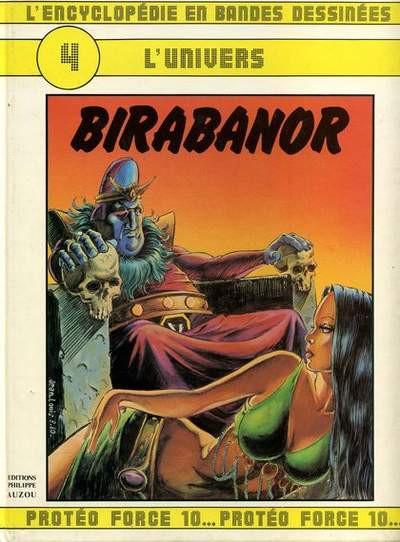 Couverture L'encyclopédie en BD tome 4 - birabanor