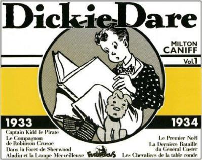 image de dickie dare ; 1933-1934