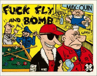 Couverture fuck, fly and bomb