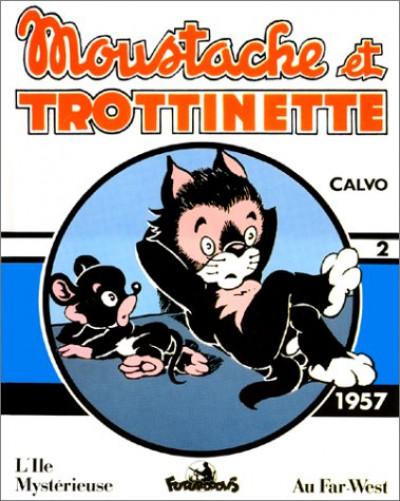 Couverture moustache et trottinette tome 2 - 1957