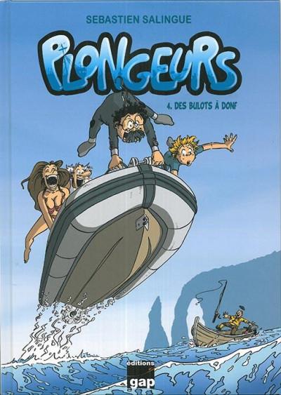 Couverture Plongeurs tome 4