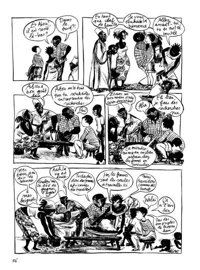 Page 2 la jeune fille et le nègre tome 2 - babette et sophie