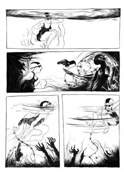 Page 4 la jeune fille et le nègre tome 2 - babette et sophie