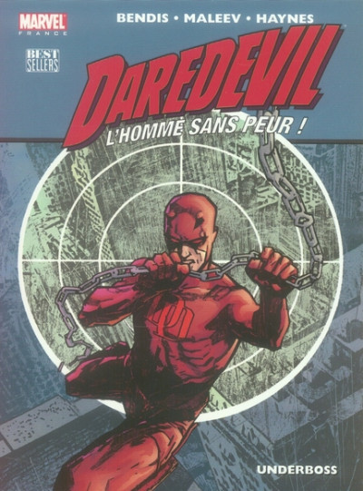 Couverture daredevil tome 3 - underboss