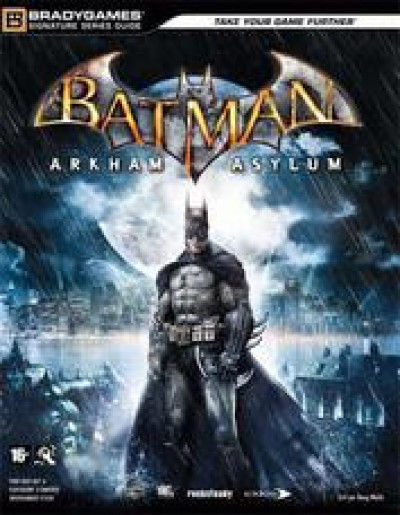 Couverture batman ; arkham asylum