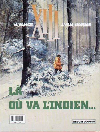 Dos XIII (France Loisirs - Album Double) tome 1 - Le jour du soleil noir / Là où va l'indien... (éd. )