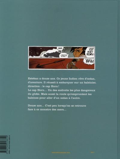 Dos esteban tome 1 - le voyage d'esteban tome 1 - le baleinier