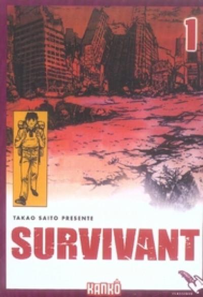 Couverture survivant tome 1