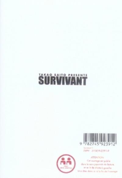 Dos survivant tome 1