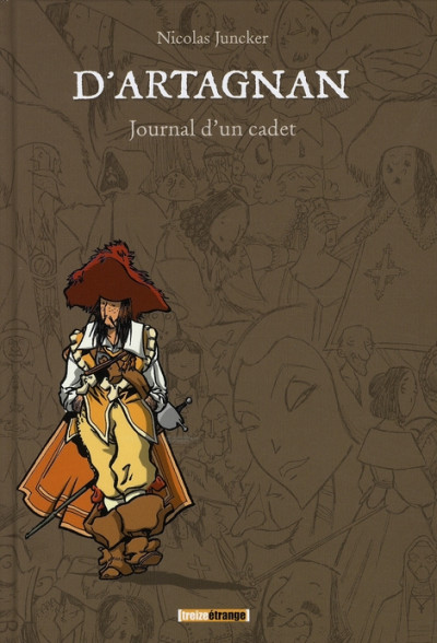 Couverture d'artagnan, journal d'un cadet