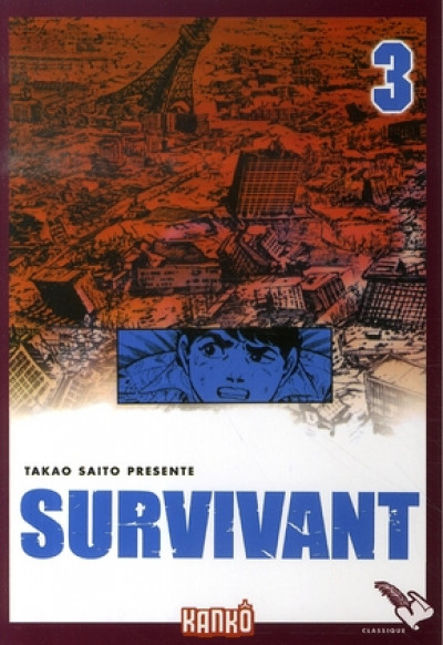 Couverture survivant tome 3