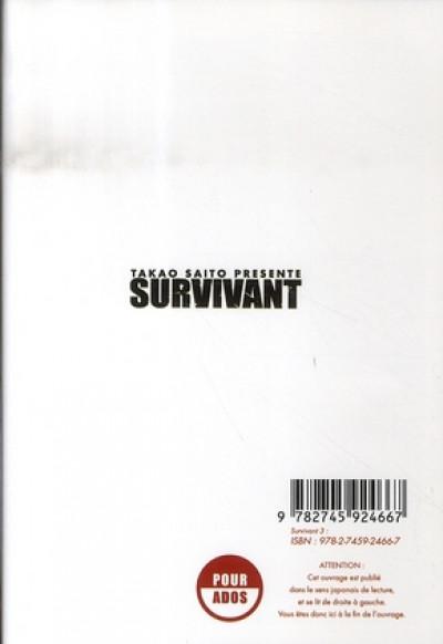 Dos survivant tome 3
