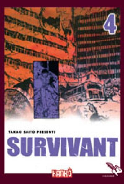 Couverture survivant tome 4