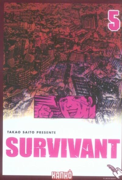 Couverture survivant tome 5