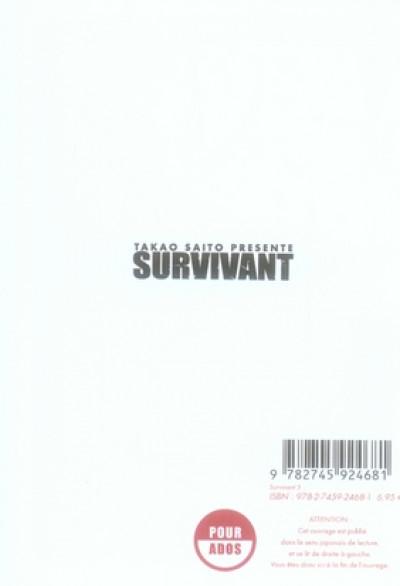 Dos survivant tome 5