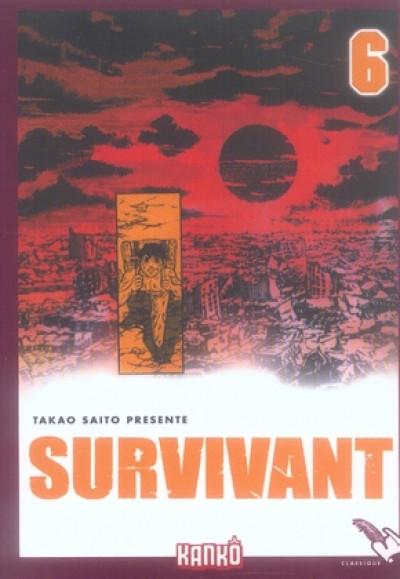 Couverture survivant tome 6