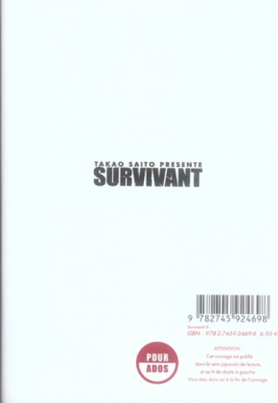 Dos survivant tome 6